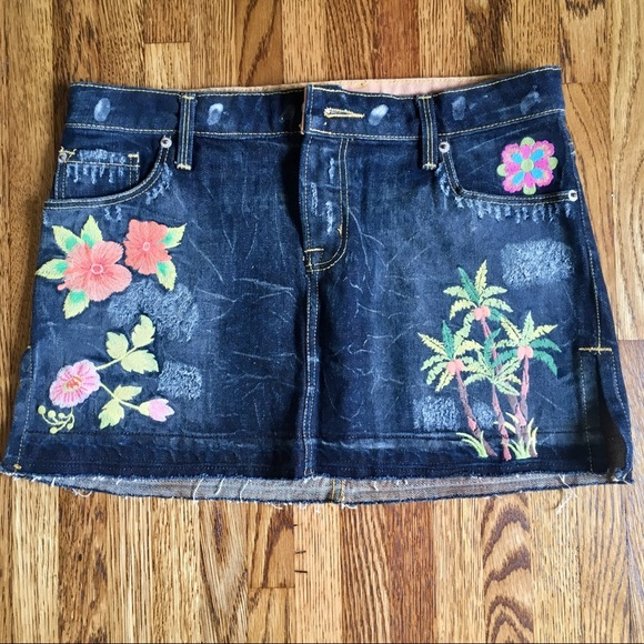 People for Peace Dresses & Skirts - $128 People for Peace Denim Jean skirt 28